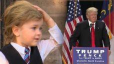 Toddler Trump Gains Fame
