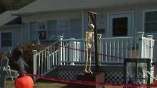 LI Halloween Display Featuring a Noose Sparks Controversy