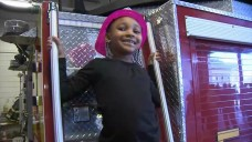 Girl, 6, Rescued From Fire Meets Firefighters Who Saved Her