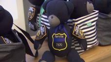 Teddy Bears Made From Fallen NYPD Officers' Uniforms
