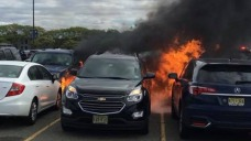 Cars Set on Fire by Hot Coals at MetLife Stadium: Police