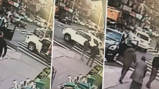 NYC Driver Mows Down Woman, Speeds Off After Looking at Her