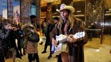 Naked Cowboy, Senator Share Elevator at Trump Tower