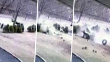 Video Catches Car As it Shears in Half in Violent NYC Wreck
