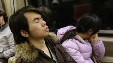 Police Warn Against Subway Snoozing, Tout Record-Low Crime