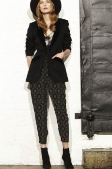 Denmare Brocade Pants