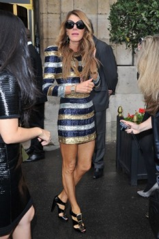 Anna Dello Russo Chooses Clothes Over Men