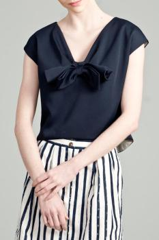 Allison Parris Bow Blouse