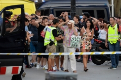 Photos: Deadly Barcelona Van Terror Attack