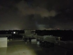 Tornado Visible From Farmers Branch