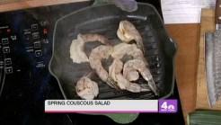 Grilled Shrimp Cous Cous Salad