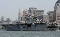 The Celebration of Fleet Week Begins At The Intrepid