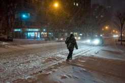 Blizzard Blasts Region; 2nd Largest Snowfall in Central Park