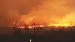 Texas Wildfires Rage: