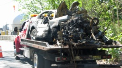 Officers Pull 4 From Burning Car in NJ Single-Car Crash: Police