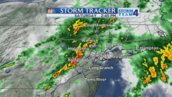 Severe Thunderstorm Warning Issued for NYC, NJ