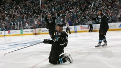 Sharks Win with Couture's OT Goal, 2-1