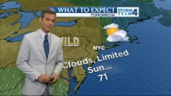Morning Forecast for Sunday, May 6