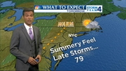 Morning Forecast for Thursday, May 9