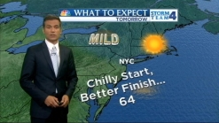 Morning Forecast for Monday, May 13