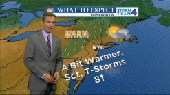 Morning Forecast for Monday, May 20
