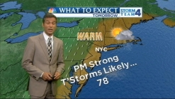 Morning Forecast for Wednesday, May 22