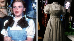 """Judy Garland's """"Oz"""" Dress Fetches $480K in Auction"""