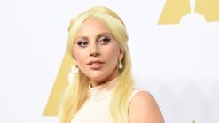 Lady Gaga In Tears at Oscars Nominees Luncheon