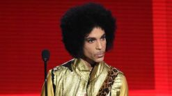Mourning Fans Adorn Prince's Home with Purple Flowers, Balloons
