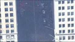 Chopper 4 Video Shows Toppled Crane Stretching Through Lower Manhattan