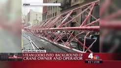 More Details on the Owners and Operator of the Crane Involved in Today's Fatal Collapse