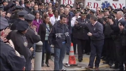 Cop Shot in NYC Stairwell Leaves Hospital