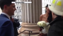 FDNY Chaplain Officiates Wedding Amid Crane Collapse Chaos