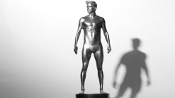 H&M Brings Naked Beckham Statues to NYC