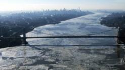 WATCH: Raw Video of NYC's Frozen Coast