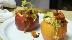 Baked New York State Apple Salad Au Lardon