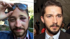 Shia LaBeouf Offers Sympathy, Soup to Socked Look-Alike: Reports