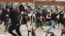 Video Captures Large Brawl at Dallas Taquería