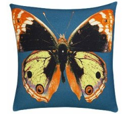 Butterfly Pop-Art Pillow