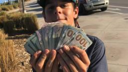 Florida Teen Returns $1,500 in Cash Found at the Beach