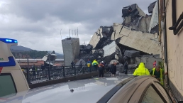 Bridge Collapses Over Italian City, Killing More Than 20