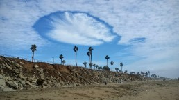 Rare 'Hole Punch' Clouds Captivate SoCal Residents