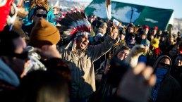 Activists Protest North Dakota Pipeline at Standing Rock