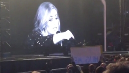 Adele Chides Audience Member For Filming During Live Show