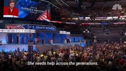 Barbara Mikulski Calls for America to 'Suit Up' at 2016 DNC