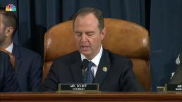 Adam Schiff's Opening Statement From Impeachment Hearing With Vindman, Williams