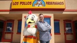 Top Celeb Pics: 'Los Pollo Hermanos' Pop-Up; CinemaCon
