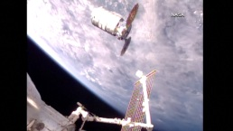 John Glenn Spacecraft Arrives at International Space Station