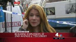 Man Witnesses Building Explosion From Starbucks