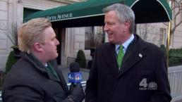 Mayor, NYPD Commish Join the St. Patrick's Day Parade